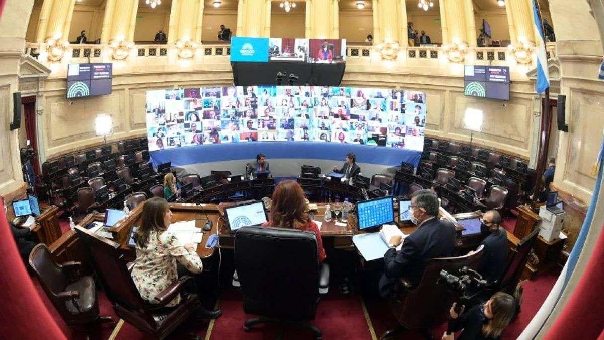 Cristina Kirchner convocó a una sesión remota