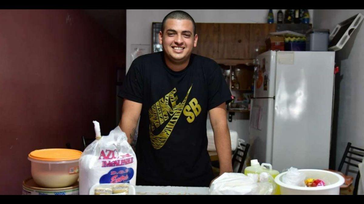 Coronavirus en Argentina: cobró el bono de $ 10 mil y cumplió el sueño de abrir una panadería en su casa