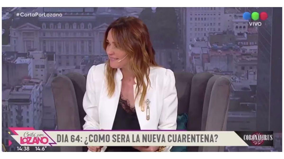 Verónica Lozano se burló de la emoción de Nicolás Wiñazki por el nacimiento de su sobrina