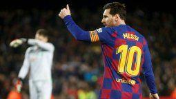 Messi y La Liga vuelve a jugarse a partir del 8 de junio