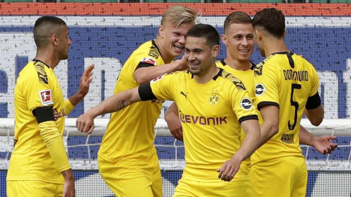 Borussia Dortmund venció 2-0 a Wolfsburgo y sueña con la Bundesliga