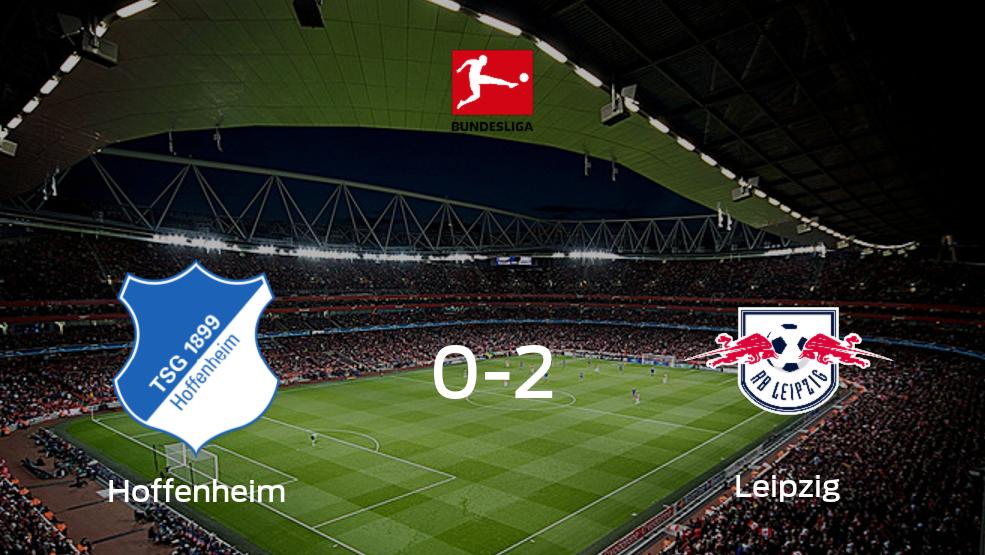 RB Leipzig derrota 2-0 a Hoffenheim y se lleva los tres puntos