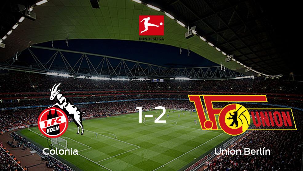 Union Berlín se queda con los tres puntos tras derrotar 2-1 a Colonia