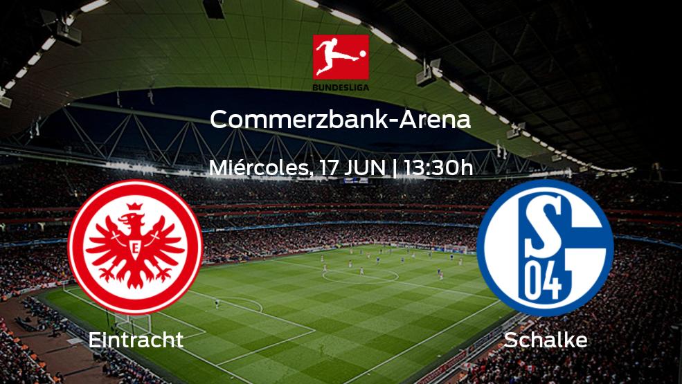 Previa del partido: Eintracht Frankfurt - Schalke 04