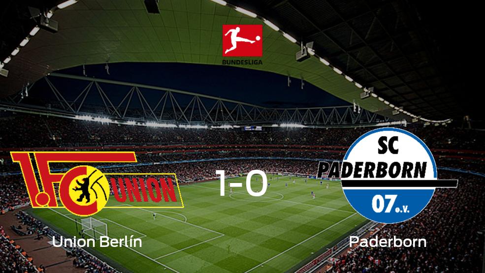 Tres puntos para el equipo local: Union Berlín 1-0 Paderborn