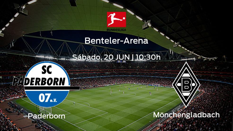 Jornada 33 de la Bundesliga: previa del encuentro Paderborn - Borussia Mönchengladbach