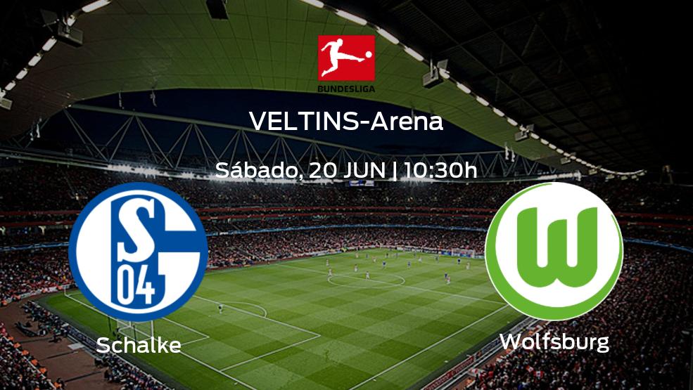 Previa del partido de la jornada 33: Schalke 04 contra VfL Wolfsburg