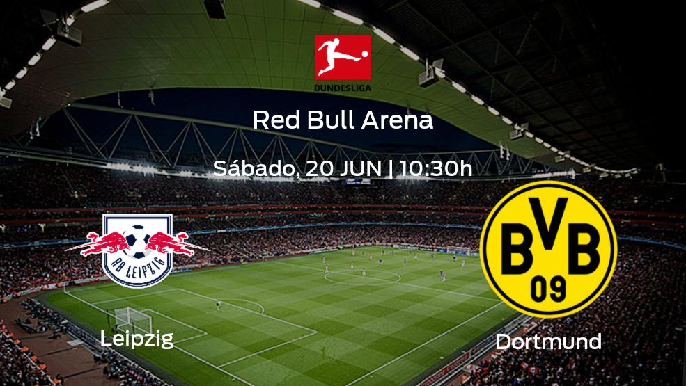 Previa del partido: RB Leipzig - Borussia Dortmund