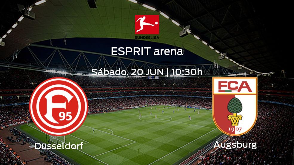 Previa del partido: Fortuna Düsseldorf recibe en casa a FC Augsburg