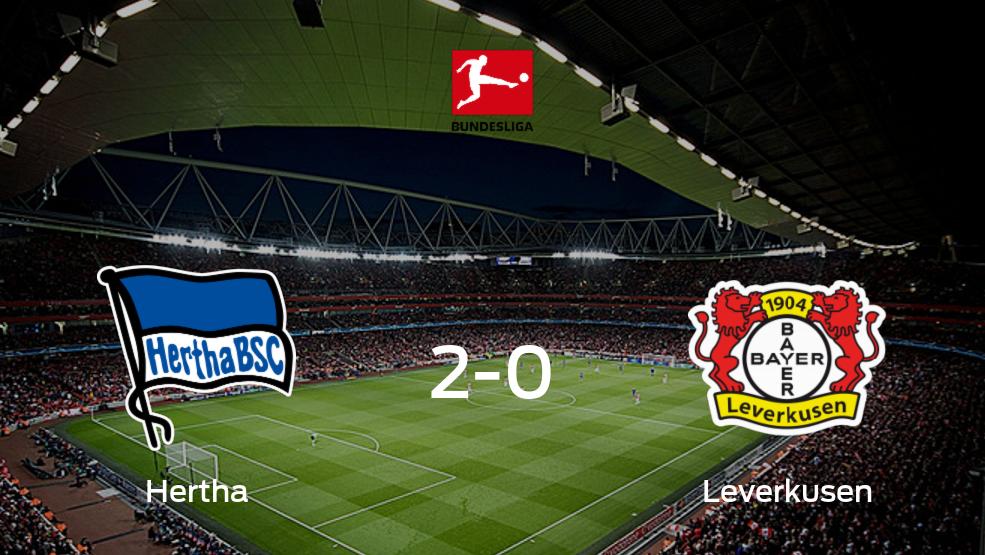 Los tres puntos se quedan en casa tras la victoria de Hertha BSC frente a Bayern Leverkusen (2-0)