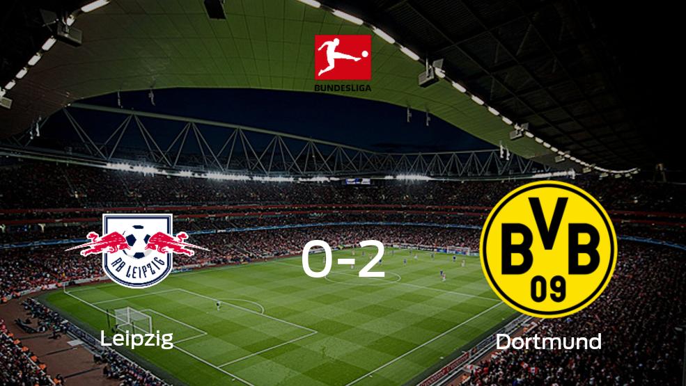 Borussia Dortmund derrota 2-0 a RB Leipzig en el Red Bull Arena