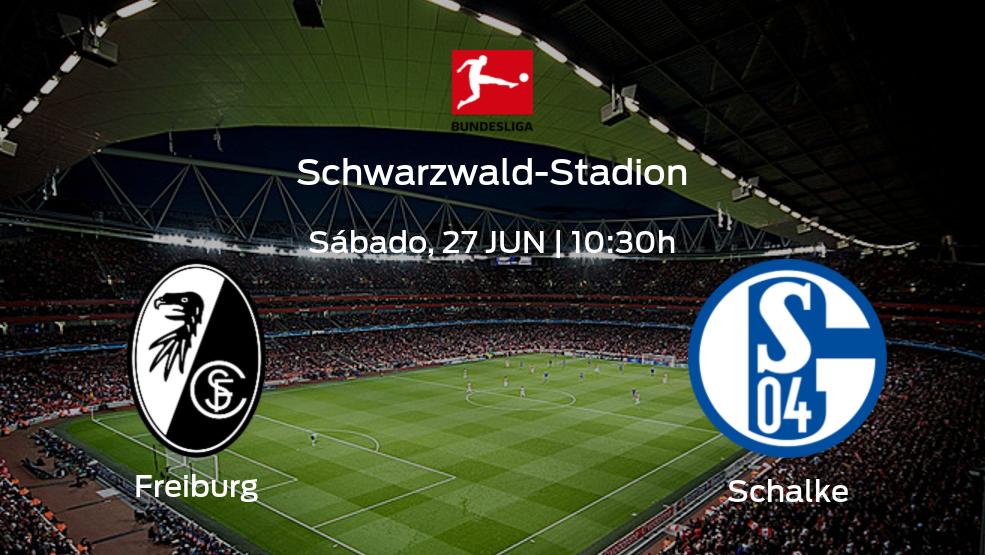 Previa del encuentro: Schalke 04 viaja al estadio de SC Freiburg para acabar el campeonato
