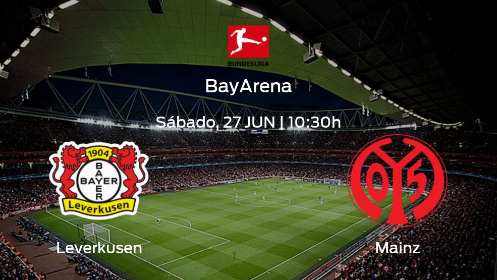Previa del partido: Bayern Leverkusen recibe a Mainz 05 en la última jornada