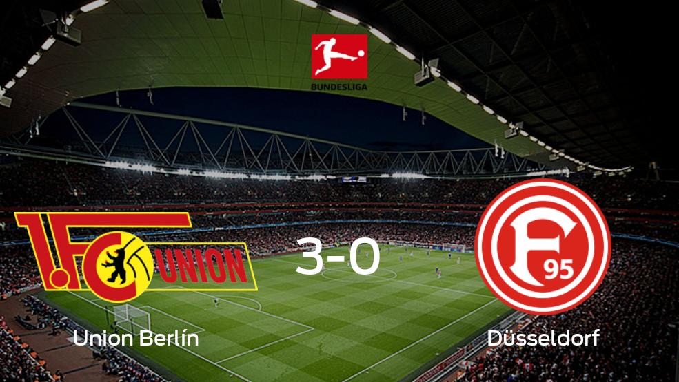 Union Berlín consigue los tres puntos en casa tras pasar por encima a Fortuna Düsseldorf (3-0)