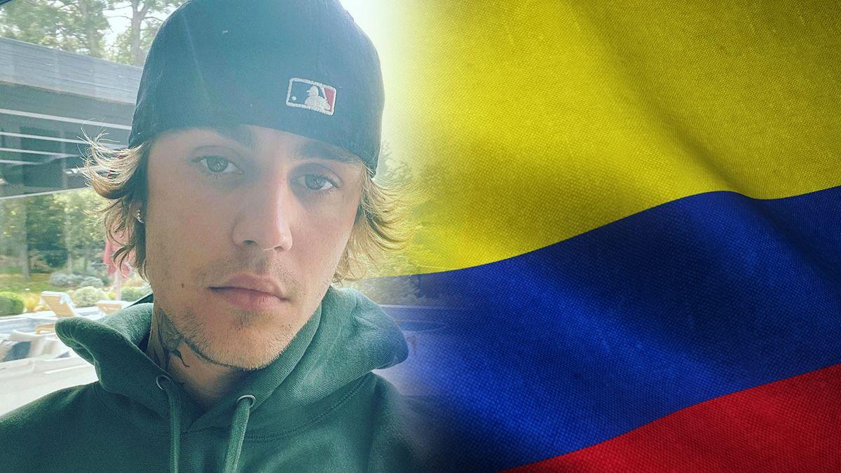 Justin Bieber pidió a sus 173 millones de seguidores en Instagram que oren por Colombia